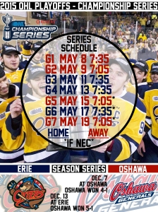 OHL Championship Series Schedule